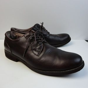 G.H. Bass & Co Lace up Brown Leather Shoes Sz. 12